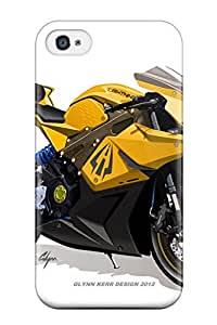 Cute High Quality Iphone 4/4s Lightning Motorcycles Street Legal Electric Race Bike Case
