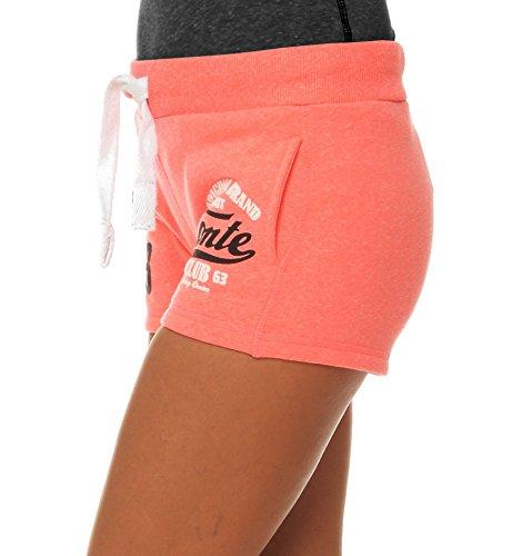 M.Conte Concetta cortos de las mujeres pantalones pantalones pantalón de deporte Pantalón azul neón de color rosa roja blanca SML XL Rosa de neón