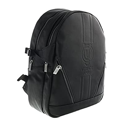 53627e8f1b Bag Backpack Versace Jeans Nappa With Logo Black best - smo.rs
