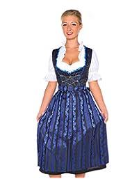 Lukas Dirndl Dress 3 pieces Authentic Bavarian Floral Exlusive Plus Size