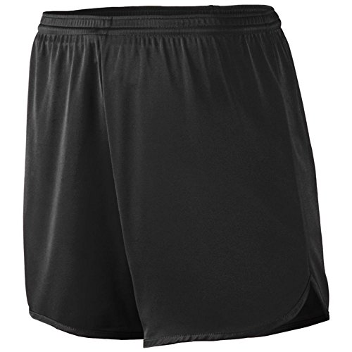 Augusta Athletic Accelerate Short - Youth, Black, Large by Augusta Athletic