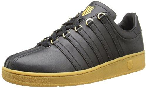 K-Swiss Men's Classic VN Fashion Sneaker, Black/Gum, 9 M US from K-Swiss