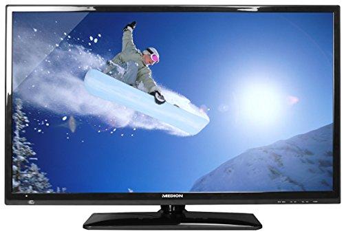 MEDION LIFE P15494 (MD 30895) 80cm (31,5 Zoll) LED-Backlight-TV (HD-Kombituner DVB-T DVB-C, HD ready 720p, Mediaplayer, CI+, EEK A) schwarz