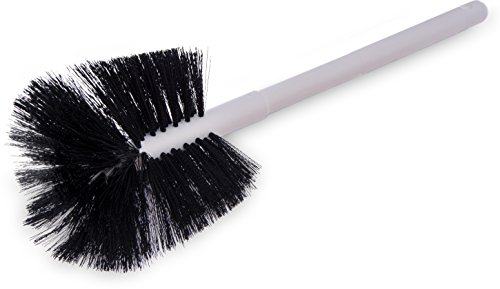(Carlisle 4002500 Sparta Coffee Decanter Brush, Soft Polyester Bristles, 6-1/2