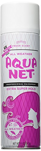 Aqua Net Professional Hair Spray Extra Super Hold 3 Fresh Scent, 11 - Net Spray Aqua Hair