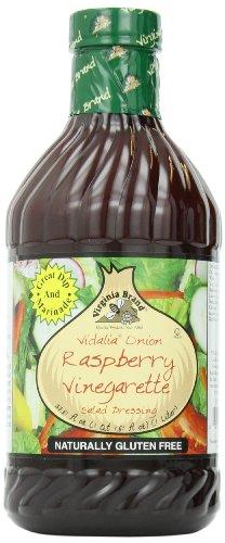 Virginia Brand Vidalia Onion Vinegarette, Raspberry, 33.8 Ounce (Pack of 6) (Virginia 6 Light)