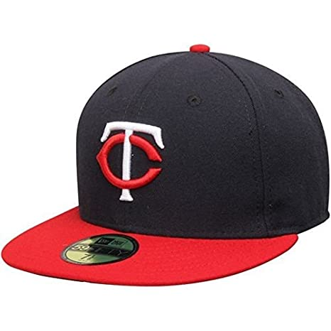 the latest 3bba2 88451 New Era Minnesota Twins MLB Authentic Collection 59FIFTY On Field Cap  NewEra 59Fifty  7