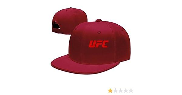 Gorra unisex Cool Snapback con el logo rojo de UFC de Hittings, color rojo vintage: Amazon.es: Ropa y accesorios