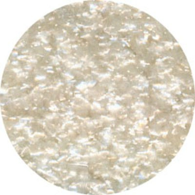 Edible Glitter White 4 oz by Ck Products