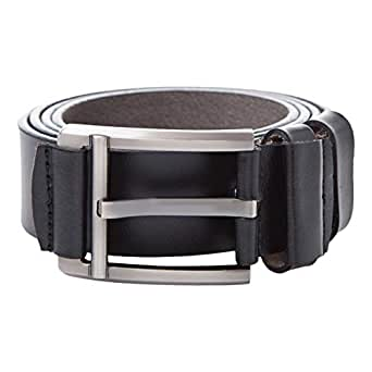 Venus Accessories Black Leather Belt For Men