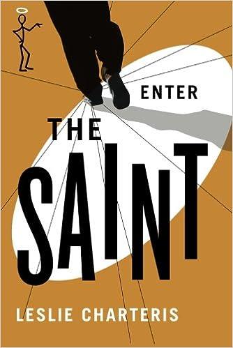 Enter the Saint