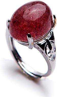 【麗子坊】指輪 ring【ストロベリークォーツ】 恋のチャンス 美と希望の象徴 strawberry quartz クリスマス