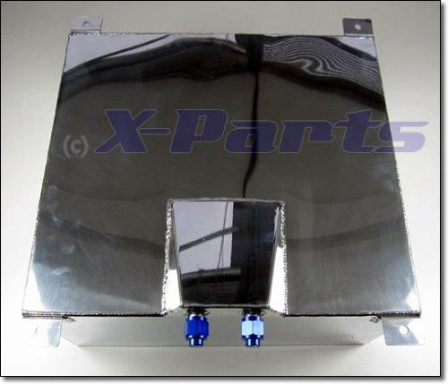 60 Liter Aluminium Renntank Kraftstofftank 1//4 Meile Turbo Benzintank Tank