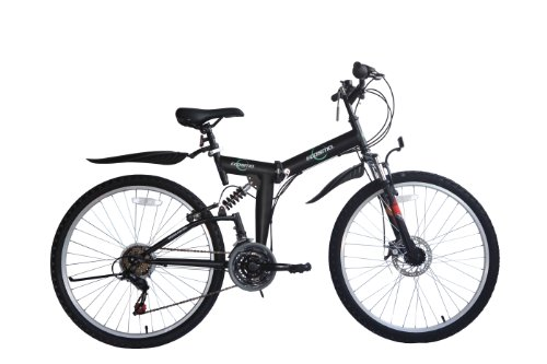🥇 ECOSMO 26SF02BL – Bicicleta plegable