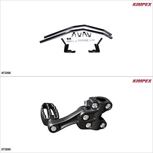 Kimpex – Fender Guards Kit – Black, Honda Rancher 350 2003-06