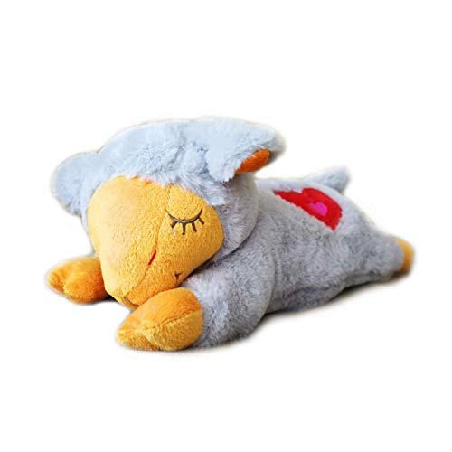 All for Paws Puppy Sleep Aid Plush Toy, Heart Beat Behavioral Aid Toys for Dogs (Dog Toys That Help With Separation Anxiety)