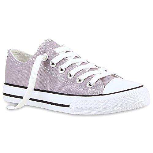 Low Unisex Stone Damen Flandell Stiefelparadies Sneaker Herren Übergrößen x1AP4AqFan