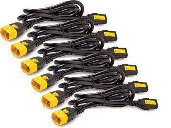 POWER CORD KIT (6 EA), LOCKING, C13 TO C14, 1.2M, NORTH AMERICA