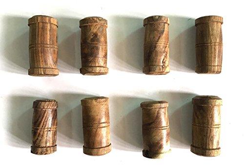 Tabla Gatte, 8 Pieces, Sheesham Wood, Professional Quality by VADYAM
