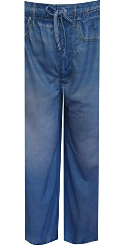 Mad Engine Your Old Worn Out Favorite Jeans Lounge Pants For Men (Small) (Lounge Pants Jeans)
