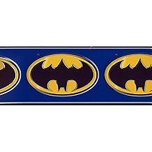 Batman Logo Blue Kids Wallpaper Border Marvel - Prepasted Wall Border 9230 BZ