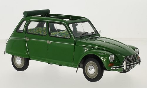 Citroen Dyane 6, grün, 1975, Modellauto, Fertigmodell, Norev 1:18