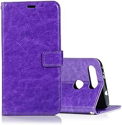 Para carcasas y fundas para celulares Estuche de cuero con efecto de flick horizontal y textura de Screwball Horse con soporte y ranuras para tarjetas, billetera y marco de fotos para Huawei