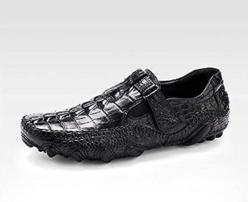 LOVDRAM Zapatos De Cuero para Hombre Moda Italiana De Lujo ...