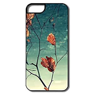 IPhone 5 5S Case, Dead Leaves White/black Cases For IPhone 5 5S