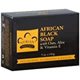 Nubian Heritage African Black Bar Soap with Oats