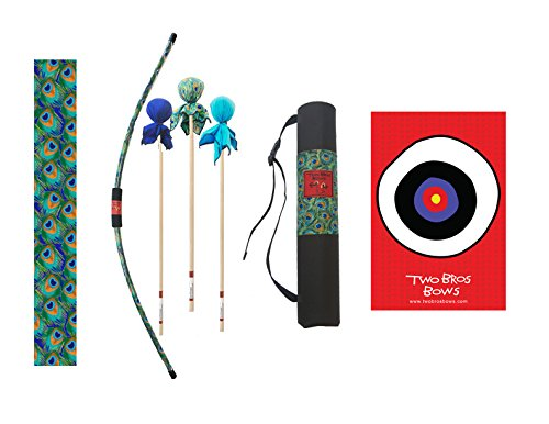 Two Bros Bows Peacock Archery Combo Set -