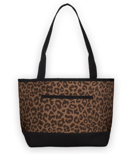 Sally Spicer Leopard Print Tote Diaper Bag