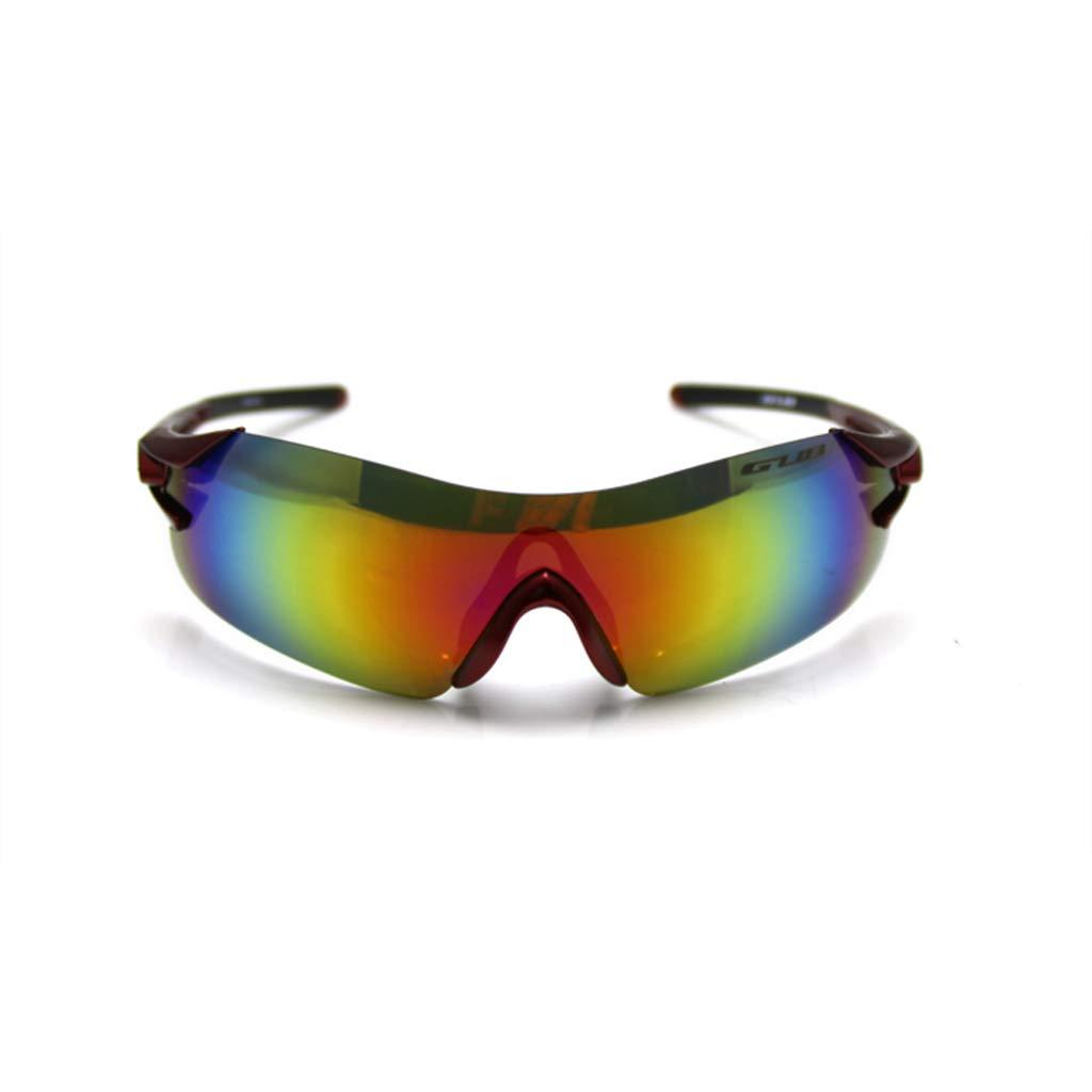 SX-CHENG Winddichte Brille - Radfahren Winddicht Anti-Fog mit Rahmen Sport Fahrrad
