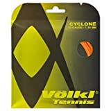 Cyclone 18G Tennis String Fluo Orange by Volkl