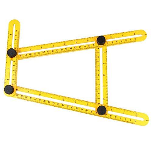 [해외]앵글 라이저 템플릿 툴, Levenustar Max Easy Angle Ruler에서 Handymen Builders Craftsmen 용 Umlitimate 템플릿 툴/Angleizer Template Tool, L
