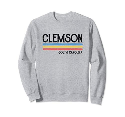 Vintage Clemson South Carolina Sweatshirt Gift Love Souvenir