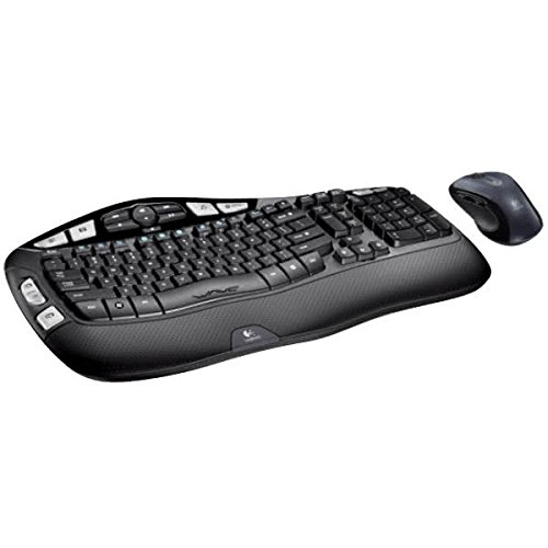 Logitech MK550 Wireless Wave Keyboard and Mouse Combo — Includes...