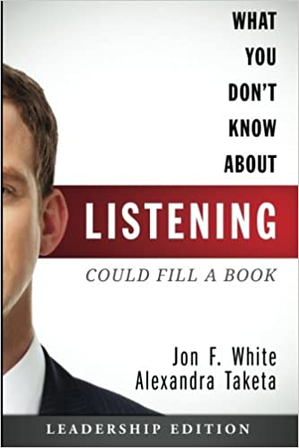 what you don t know about listening could fill a book leadership