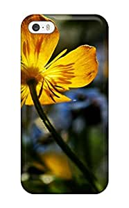 Special Design Back Flower Earth Nature Flower Phone Case Cover For Iphone 5/5s