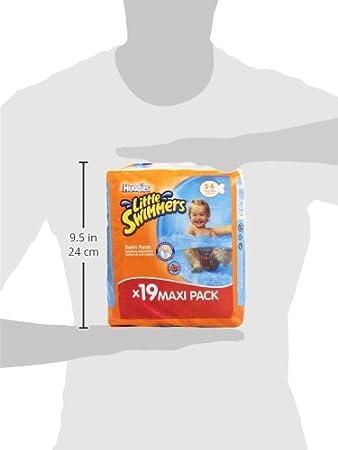 8 Packungen /à 11 Gr/ö/ße 5-6 88 Windeln Huggies Little Swimmers L 95 pezzi 12-18 kg