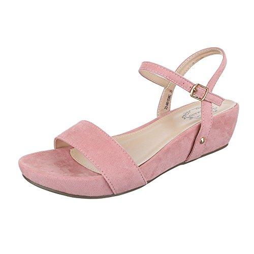 Vaaleanpunainen suunnittelu Sandaalit Ital Naisten Muoti zwagTn70