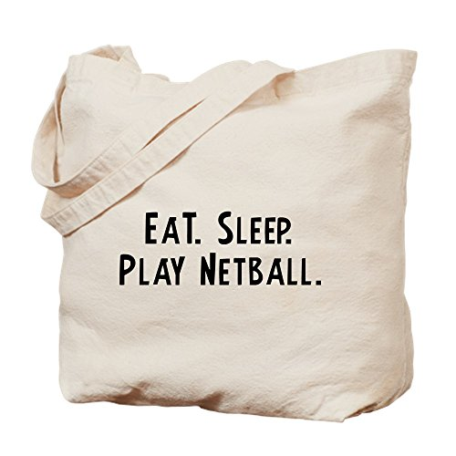 Cloth CafePress Sleep Tote Netball Shopping Canvas Eat Play Bag Natural Bag 18wqFx14
