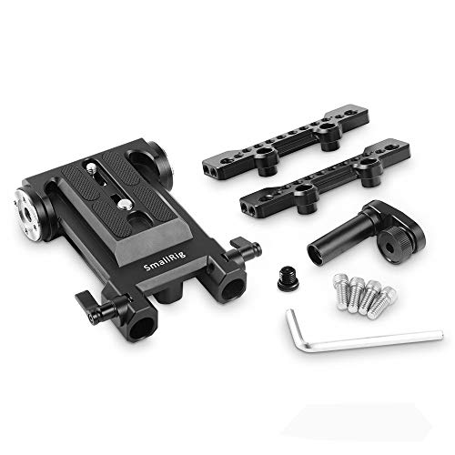 SMALLRIG Accessory Kit for Panasonic EVA1, Including Baseplate with Rosette Mount for Arri Standard Rosette, Top Plate and LCD Screen Mounting Clamp Adapter 2099