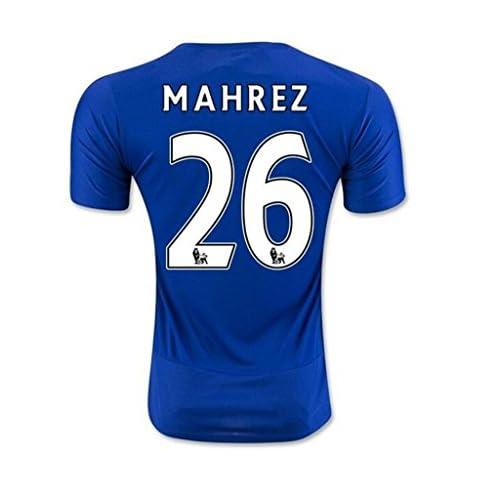 834abf6f3 30%OFF 2016 2017 UEFA England Premier League Leicester City FC 26 Riyad  Mahrez Home