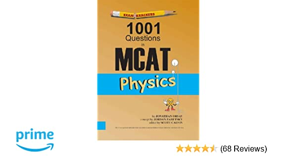 Examkrackers 1001 questions in mcat in physics 9781893858183 examkrackers 1001 questions in mcat in physics 9781893858183 medicine health science books amazon fandeluxe Images