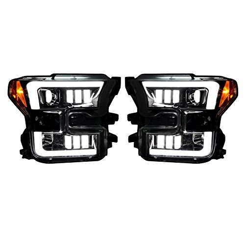 Recon 264290BKC F-150 Ford Smoked-Black Projector - Ford Led F150 Recon