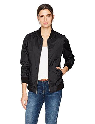 Charles River Apparel Women's Boston Flight Jacket, Black S