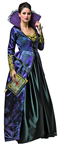 Rasta Imposta Women's Plus-Size Once Upon A Time Evil Queen, Purple/Black, Plus -