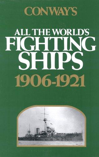 0851772455 - Robert Gardiner: Conway's All the World's Fighting Ships, 1906-1921 - Boek