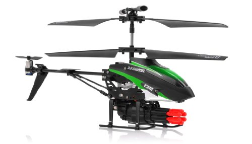 SkyCo 3.5 Channel Missile Shooting RC Helicopter RTF with...
